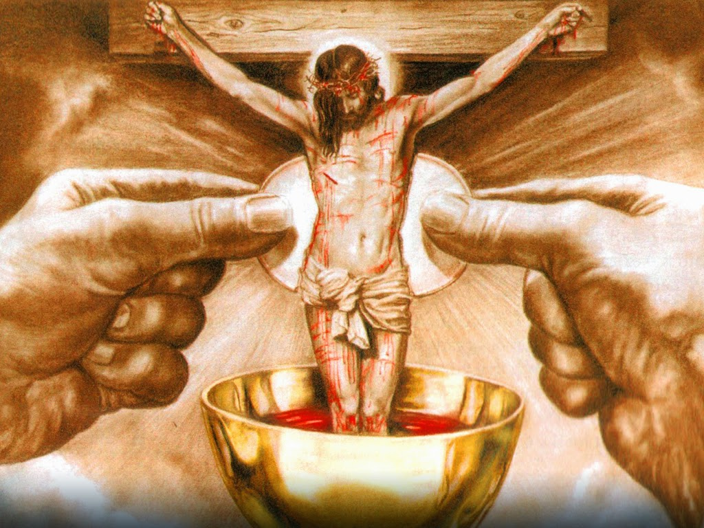 Who amongst you would be strong enough to accept My Cup of Suffering, in all that it brings withit