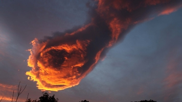 hand of god cloud