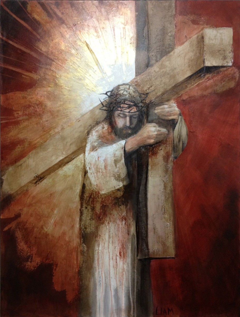The antichrist will be from the East, not the West ... Jesus On The Cross Painting