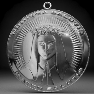 Mother of Salvation The Medal of Salvation offers the Gift ofConversion